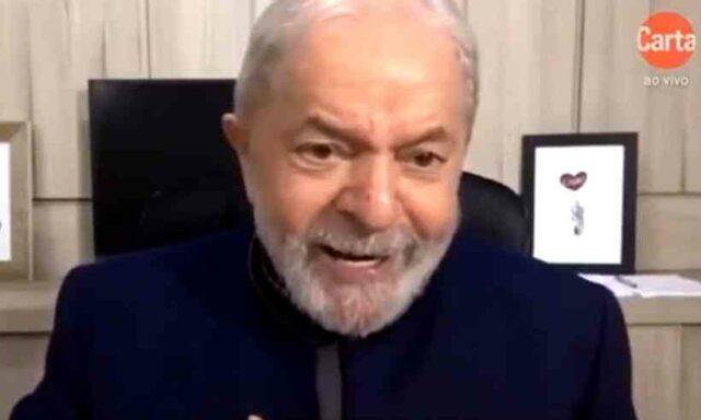 """""""Ainda bem que a natureza criou esse monstro do coronavírus"""", diz Lula ao atacar Bolsonaro"""