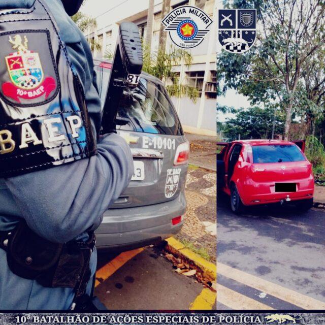10º Baep recupera carro, dinheiro e celular roubados em Piracicaba