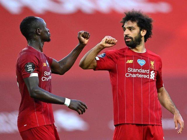 Liverpool goleia e pode ser campeão inglês nesta quinta-feira