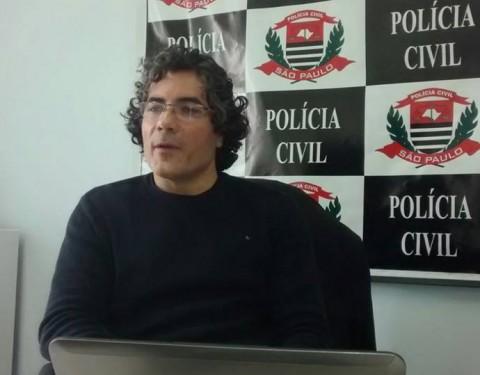 Delegado Vagner Rogério Romano comandou a ação. Foto: Valter Martins